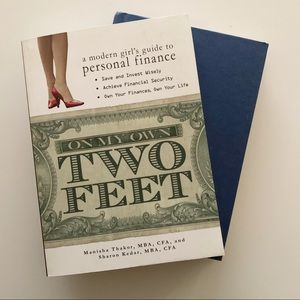 Financial Book Bundle: On My Own Two Feet + Stocks